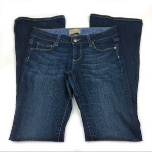 """Paige """"Canyon Boot"""" Petite Jeans, size 26."""